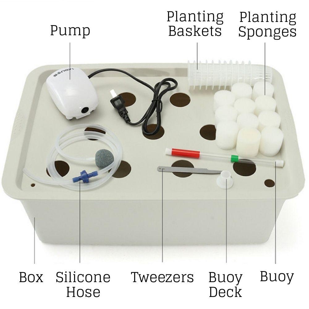 dwc bucket system